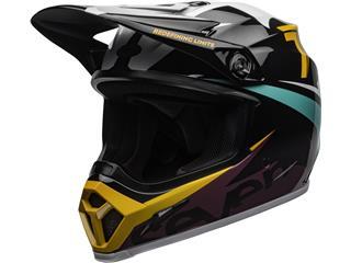 BELL MX-9 Mips Helmet Seven Ignite Black/Aqua Size M