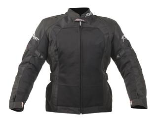 RST Brooklyn Ventilated Jacket Textile Black Size S Women - 111840110