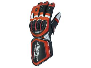 RST Tractech Evo CE Gloves Leather Summer Flo Red Size S/08 Men