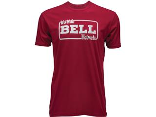 T-Shirt BELL Win With Bell rouge taille S - 7093675
