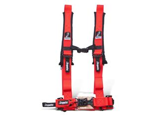 DRAGONFIRE Harness Red 4 points 2""