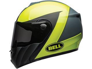 BELL SRT Modular Helmet Presence Matte/Gloss Grey/Neon Yellow Size XL - e29ede77-2ac7-4fb0-94e9-00701afc1808