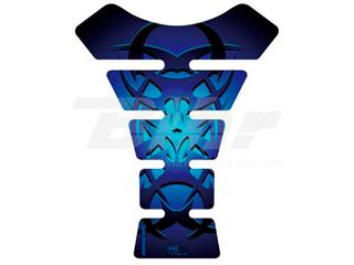 Protector de depósito Motografix STREET 1 pieza Tribal, azul