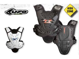 UFO VALKYRIE 2 KID CHEST PROTECTOR IN BLACK