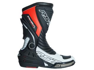 Bottes RST TracTech Evo 3 CE cuir rouge fluo 40 homme