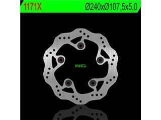 Disque de frein arrière NG 1171X pétales fixe KTM - 3501171X