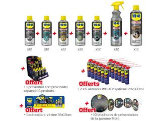 Set Up Kit N°1 WD 40 Specialist Moto
