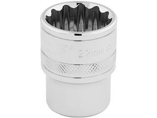 DRAPER 1/2 12 points Hi-Torq® 22mm Socket