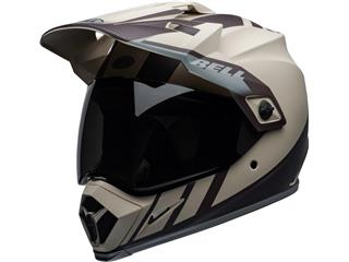 Casque BELL MX-9 Adventure Mips Dash Matte Sand/Brown/Gray taille S