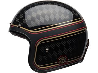 Capacete Bell Custom 500 Carbon RSD CHECKmate Preta/Dourada, Tamanho XXL - e3b939f8-5de9-4d0f-a8e6-55560f755f2c