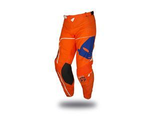 Pantalon UFO Slim Sharp orange/bleu taille 48