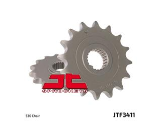 JT SPROCKETS Front Sprocket 16 Teeth Steel Standard 520 Pitch Type 3411 Can-Am/Bombardier