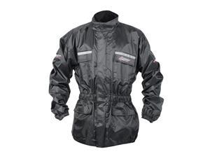 RST Waterproof Jacket Black Size S - 118150140