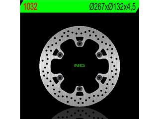 Disque de frein arrère gauche NG 1032 rond fixe Yamaha T-Max 500 - 3501032