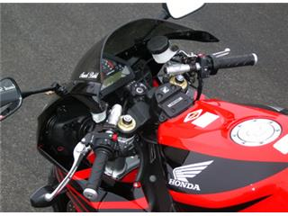 LSL Tour Match Raised Clip-on Bars Silver Honda CBR1000RR