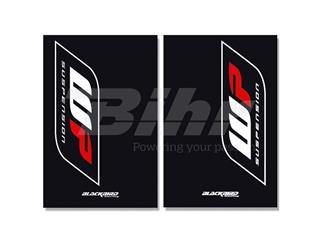 Adhesivos de horquilla Blackbird Wp negro 5015W