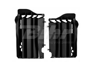 Aletines de radiador Polisport Honda negro 8456300003
