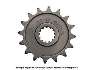 Pignon RENTHAL 15 dents acier standard pas 520 type 304 KTM