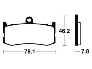 Plaquettes de frein TECNIUM MFP364 métal fritté - e5884d01-5fce-4623-a409-7cd9c59ac70f