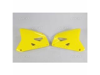 Ouïes de radiateur UFO jaune Suzuki RM125/250 - 78333464