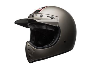 BELL Moto-3 Helmet Independent Titanium Mat Size XXL