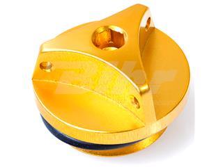Tampão de enchimento de óleo Yamaha (new design) alumínio ouro