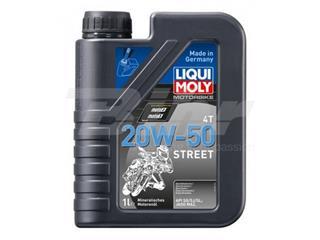Botella de 1L aceite Liqui Moly Motorbike 4T mineral 20W-50 Street 1500