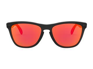 Kit Gafas de Sol OAKLEY MOTO GP Negro Mate, Lente PRIZM Rubí + Limpiador Muc Off