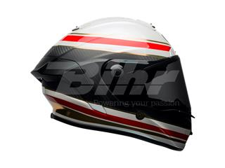 Casco Bell Race Star Formula Blanco/Rojo Talla S