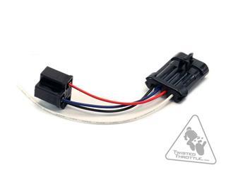 Adaptateur câble DENALI phare H4 Harley Davidson  - 30500064