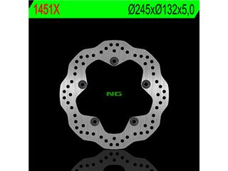 NG 1451X Rear Brake Disc Petal Fixed Yamaha