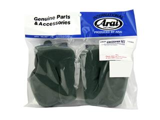 ARAI Dry-Cool FCS Cheek Pads 20mm (L-XL Standard Thickness) for Rebel/Chaser-V/Chaser-V PRO Helmets