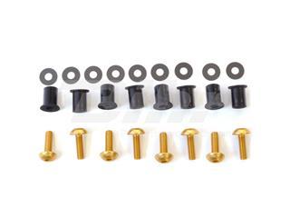 Kit parafusaria viseira alumínio Pro-Bolt ouro SK10G - e765ebc6-d166-47d8-b55f-b647dc00ff38