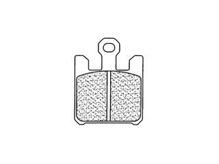 Plaquettes de frein CL BRAKES 1110XBK5 métal fritté - 271110SB