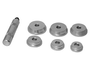 BUZZETTI Bushing & Bearing Driver Set 6pcs