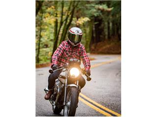 BELL Race Star Flex Helmet RSD Gloss/Matte White/Red Carbon Formula Size M - e7dad14c-e5b8-4e51-a49a-c889ead44120