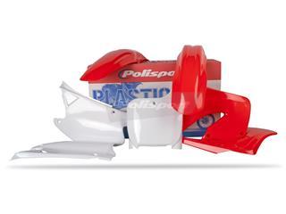 Kit plastique POLISPORT couleur origine Honda CR125R/CR250R - PS211ST01