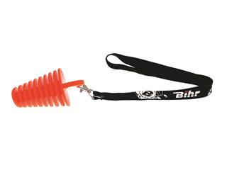 BIHR Exhaust Plug 2 Stroke Orange Ø14 to 37mm