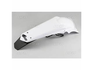 Garde-boue arrière + support de plaque avec LED UFO blanc Yamaha WR450F