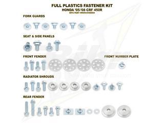 Kit tornillería de plástica Bolt HON 05-08 CRF450R
