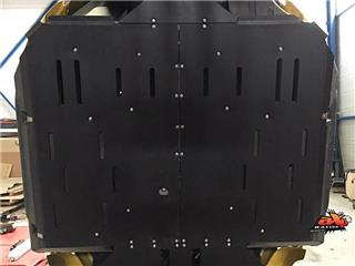Protector integral AXP, , 10 mm, negro, Yamaha YXZ1000R