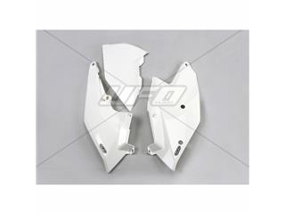Plaques latérales UFO blanc KTM - 78554610