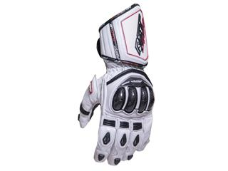 Gants RST Tractech Race CE cuir blanc taille S/08 homme
