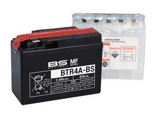 BS BATTERY Batterien BTR4A-BS wartungsfrei mit säurepack geliefert