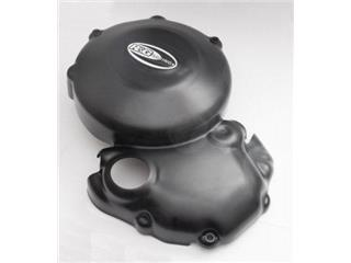 R&G RACING Left Crankcase Cover Black Triumph Daytona/Street Triple 675