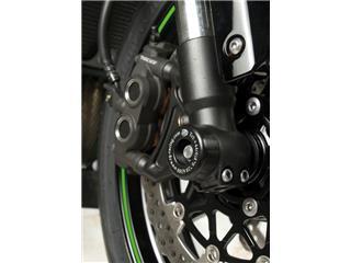 Protection de fourche R&G RACING noir Kawasaki ZX10R