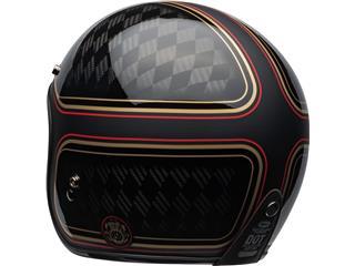 Capacete Bell Custom 500 Carbon RSD CHECKmate Preta/Dourada, Tamanho XXL - e9645733-bbc6-4b20-a594-59f94a7da35f