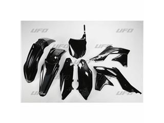 Kit plastique UFO noir Kawasaki KX250F - 78245120