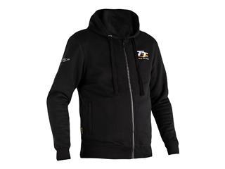 RST IOM TT Zip Through Reinforced Hoodie Black Men - 814000960171