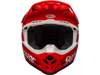 Casque BELL Moto-9 Mips Signia Matte Red/White taille XL - e9f504bf-0ba5-448d-b7be-88ff1b0227cf